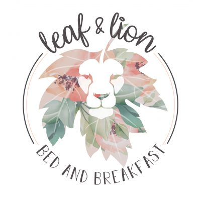 Leaf & Lion Bed and Breakfast - Logo Light