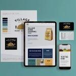 Village Home Catering - website design