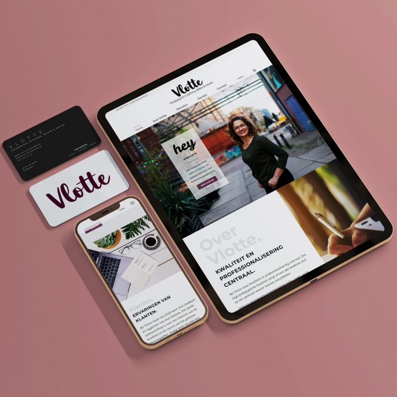 Vlotte - Graphic - website design
