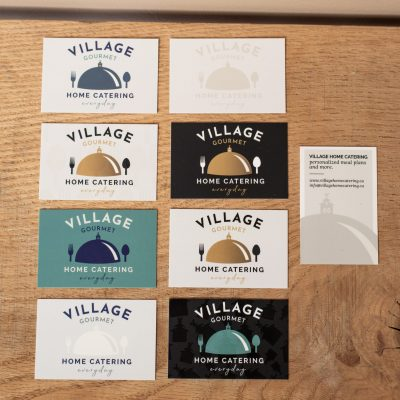 Village Home Catering - Business Cards