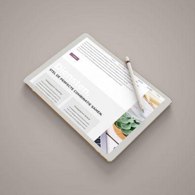 Vlotte - Home Page iPad